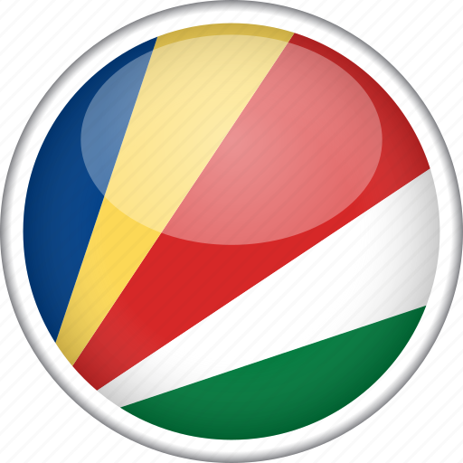 circle, country, flag, national, seychelles icon