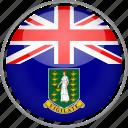 british virgin, circle, country, flag, national