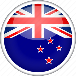 circle, country, flag, national, new zealand icon