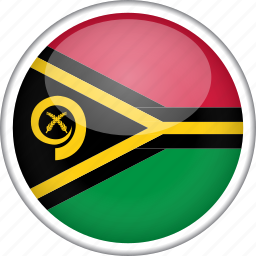 circle, country, flag, national, vanuatu icon