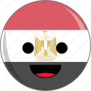 awesome, country, cute, egypt, face, flags icon