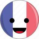 awesome, country, cute, europe, face, flags, france