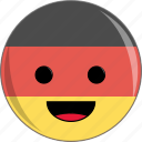 awesome, country, cute, face, flags, germany