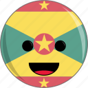 cute, countries, country, awesome, face, flags, grenada