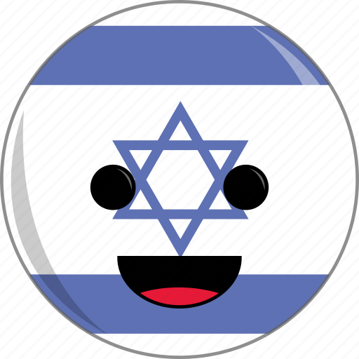 awesome, country, cute, face, fantastic, flags, israel icon