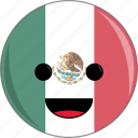 awesome, bird, countries, country, face, flags, mexico icon
