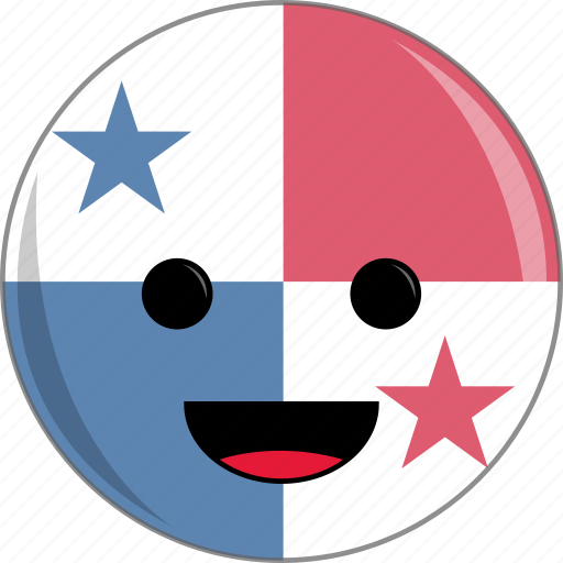 awesome, country, cute, face, flags, latino, panama icon