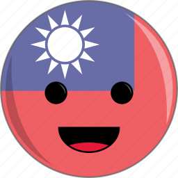awesome, country, cute, face, flags icon