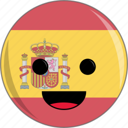 awesome, bulls, cute, face, flags, lion, spain icon