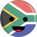 africa, awesome, country, cute, face, flags, south icon
