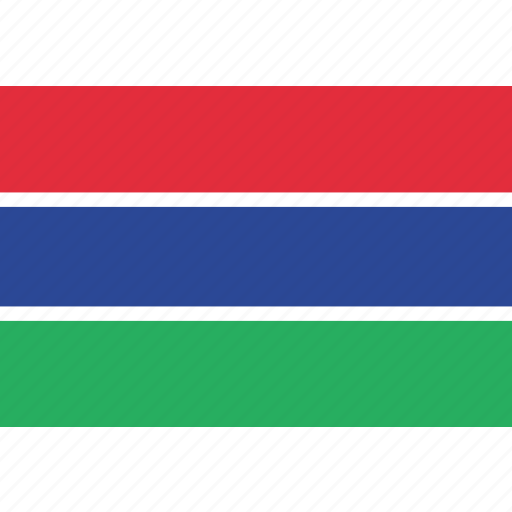 country, flag, gambia, gambian, national icon