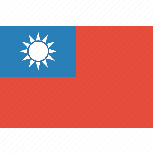 country, flag, national, taiwan icon