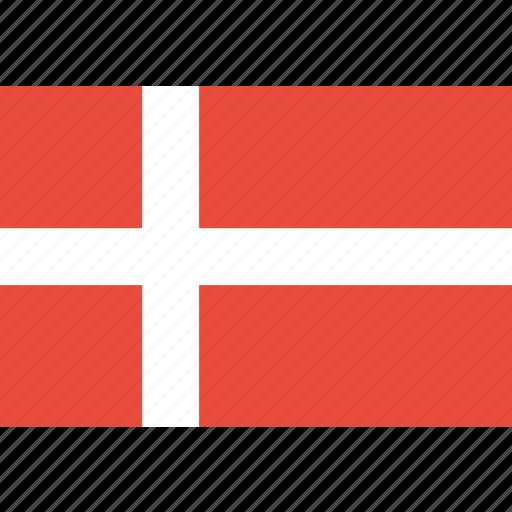 country, danish, denmark, flag, national icon
