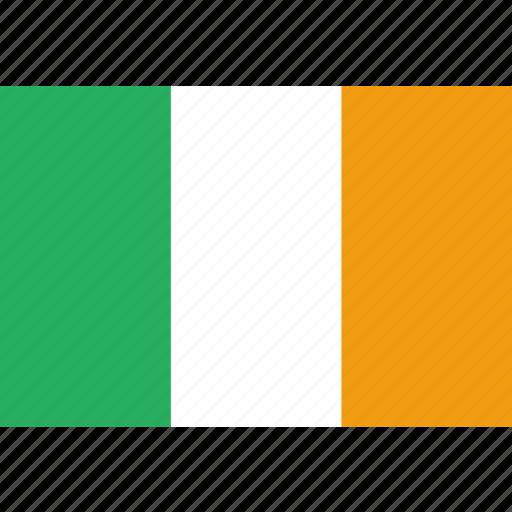country, flag, ireland, irish, national icon