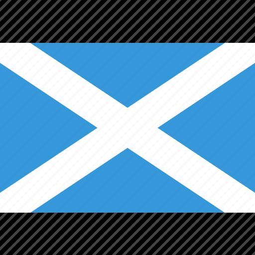 country, flag, national, scotland, scottish icon