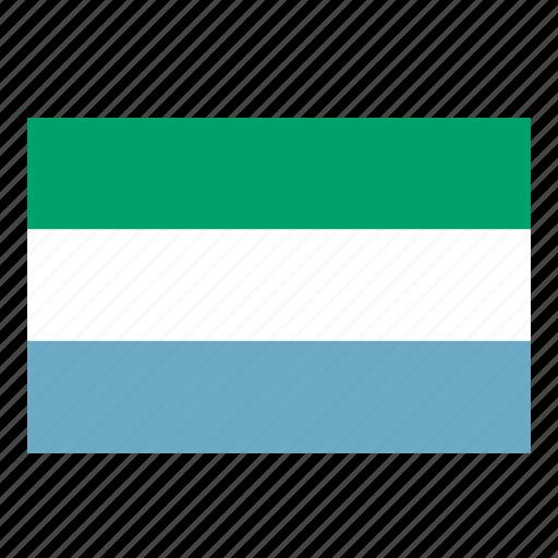 flag, flags of the world, leone, sierra, sierra leone, world flags icon