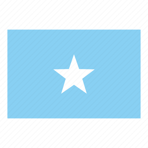 flag, flags of the world, somalia, world flags icon