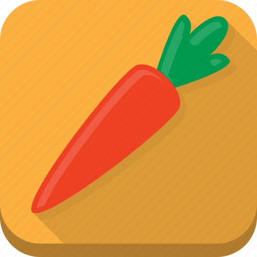 carrot, cooking, food, kitchen, orange, vegetable icon