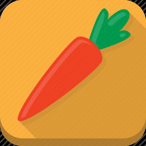 carrot, cooking, food, kitchen, orange, vegetable icon