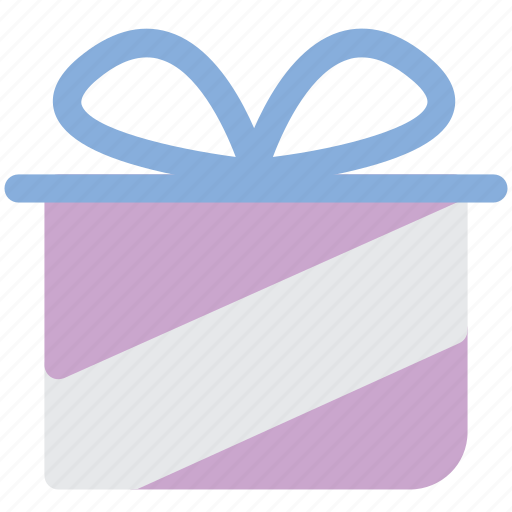 gift, gift box, gift package, present, present box, ribbon, surprise icon