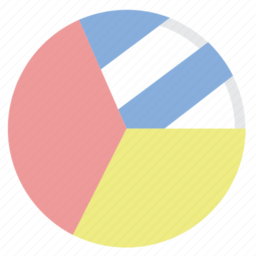 chart, diagram, graph, pie icon