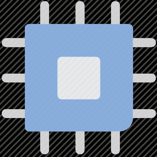 chip, electronics, microscheme, processor, technology icon