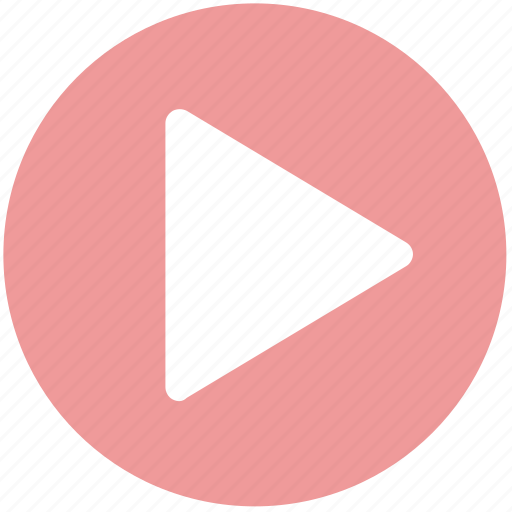 button, clip, movie, play, video, youtube icon