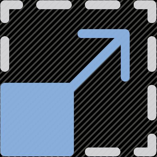 arrows, expand, full screen, fullscreen, maximize, ui icon