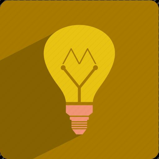 bulb, electric, energy, idea, lamp icon