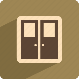 door, open, protect, security icon