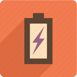 battery, electric, energy, power icon