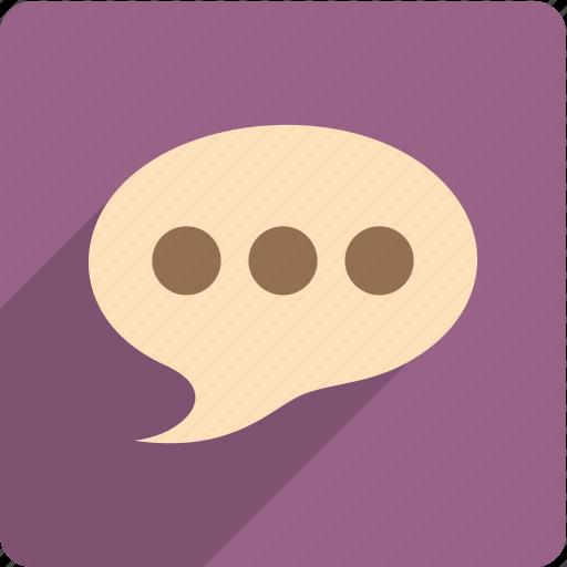 bubble, chat, comment, dialogue, message icon