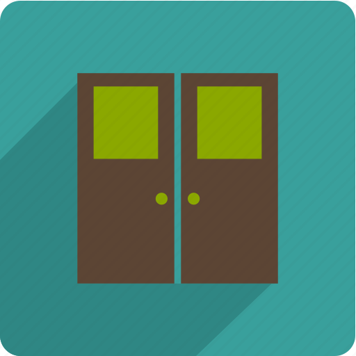 door, exit, open, out icon