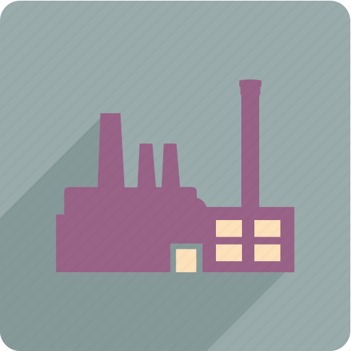 energy, factory, industry, power icon