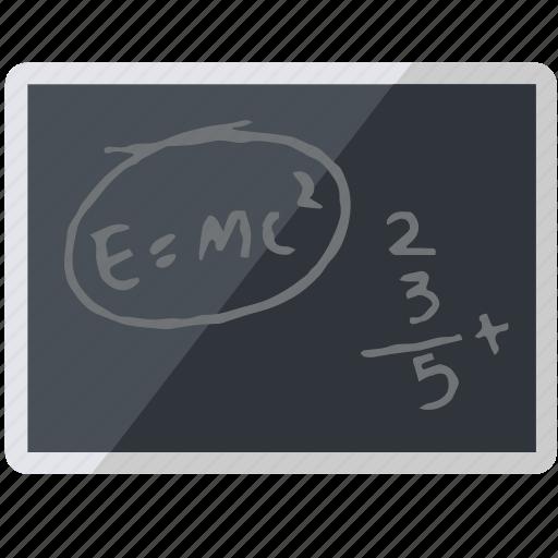 academic, academy, blackboard, board, chalkboard, knowledge, school, tool, university icon
