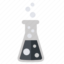 academic, academy, chemical, chemistry, erlenmeyer, flask, school, science, tool, university icon