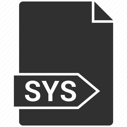 file, folder, format, sys icon