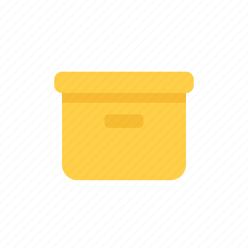 box, closed, delivery, office, office box, package icon