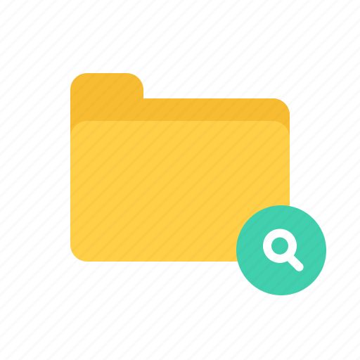document, file, files, folder, search icon