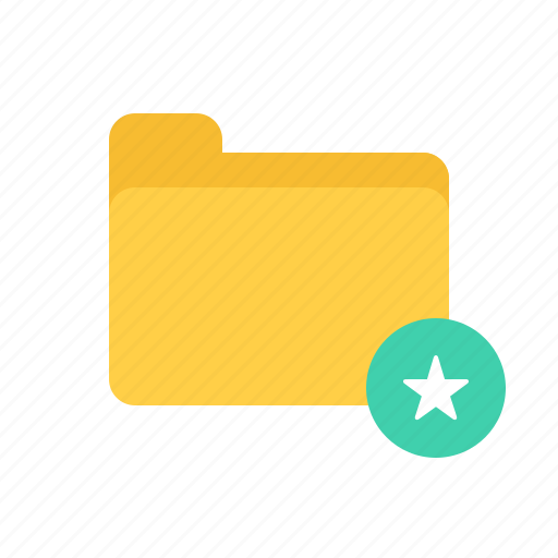 document, favorite, file, files, folder, marked, selected icon