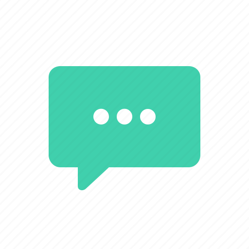 bubble, chat, message, processing, speech icon