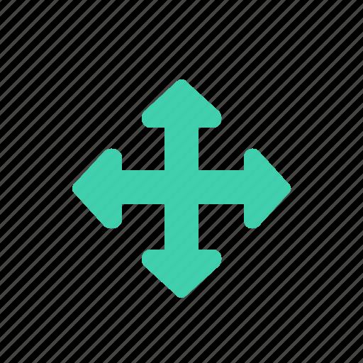arrows, cursor, move icon