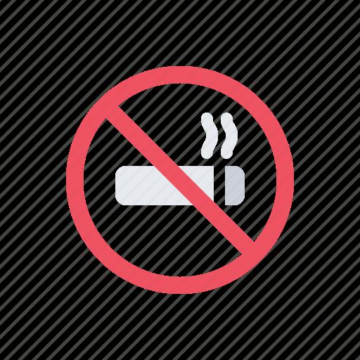 cigarette, health, no smoking, smoking, tobacco icon