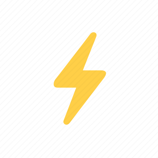 bolt, electric, lightning, power, thunderbolt, weather icon