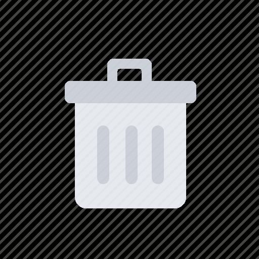 bin, delete, file, junk, rubbish, trash icon