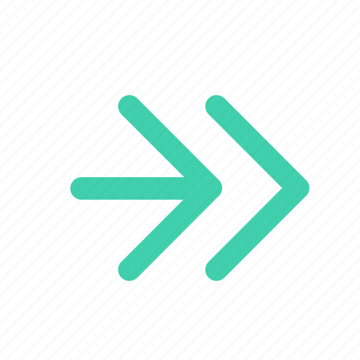 arrow, direction, forward, pointer, right icon