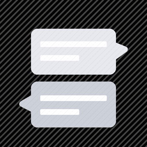 chat, conversation, speech, talking icon