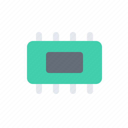 chip, computer, cpu, gpu, microchip, processor icon
