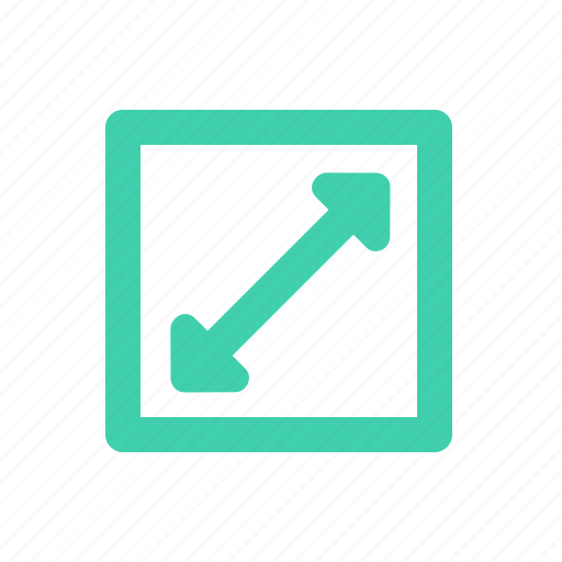Expand, fullscreen, full, enlarge, maximize icon