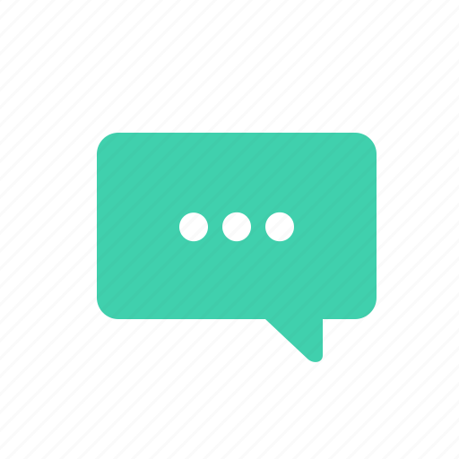 chat, message, processing icon